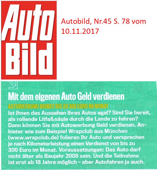 Wrapclub in Autobild1